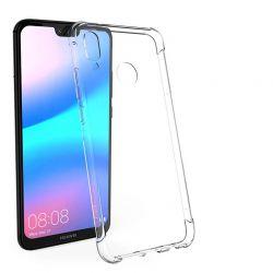 Funda Transparente Silicona con esquinas reforzadas - Huawei P20 Lite