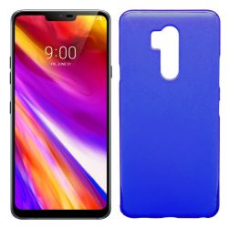 Funda de TPU Mate Lisa para LG G7 ThinQ Silicona Flexible Azul