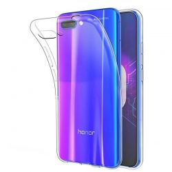 Funda flexible de TPU y Silicona Transparente para Honor 10