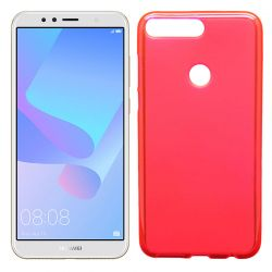Funda de TPU Mate Lisa para Huawei Y6 2018 / Honor 7A Silicona Rojo