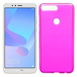 Funda de TPU Mate Lisa para Huawei Y6 2018 / Honor 7A Silicona Rosa