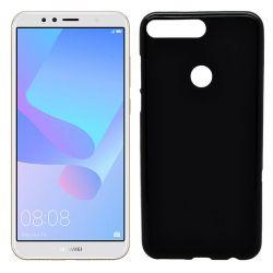 Funda de TPU Mate Lisa para Huawei Y6 2018 / Honor 7A Silicona Negro