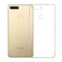 Funda de TPU Silicona Transparente para Huawei Y6 2018 / Honor 7A