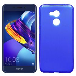 Funda flexible Silicona Mate Lisa para Honor 6C Pro / V9 Play Azul