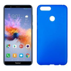 Funda de Silicona Mate Lisa para Honor 7X color Azul