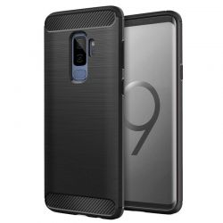 Funda Forcell Carbon tipo fibra de carbono, Samsung Galaxy S9 Plus