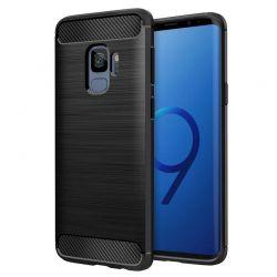 Funda TPU Forcell Carbon tipo fibra de carbono - Samsung Galaxy S9