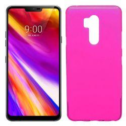 Funda de TPU Mate Lisa para LG G7 ThinQ Silicona Flexible Rosa