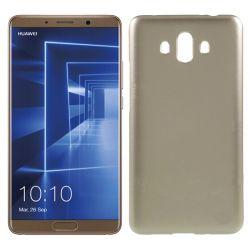 Funda Trasera de Silicona Jelly Flash para Huawei Mate 10 Dorado