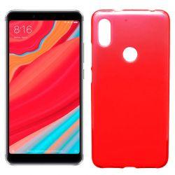 Funda de TPU Mate Lisa para Xiaomi Redmi S2 Silicona Flexible Rojo