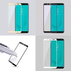 Protector pantalla Cristal Templado Completo para Samsung Galaxy J6 2018