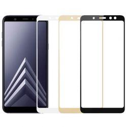 Protector pantalla Cristal Templado Completo - Samsung Galaxy A6 Plus
