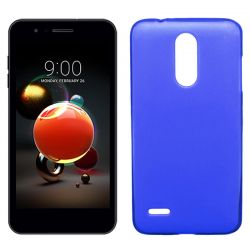 Funda de TPU Mate Lisa para LG K9 Silicona Flexible Azul