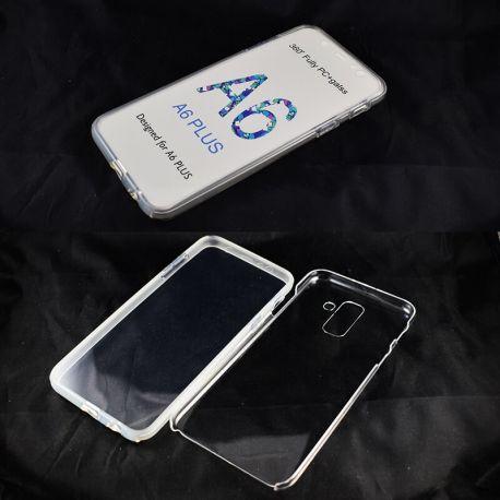 Funda Doble 360 Frontal y Trasera Sin Puntos - Samsung Galaxy A6 Plus