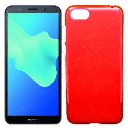 Funda de TPU Mate Lisa para Huawei Y5 2018 / Honor 7S Silicona Rojo