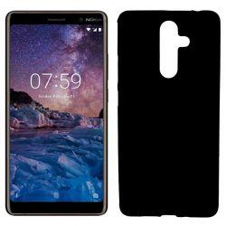 Funda de TPU Mate Lisa para Nokia 7 Plus Silicona Negro