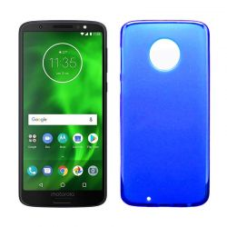 Funda de TPU Mate Lisa para Motorola Moto G6 Silicona Flexible Azul