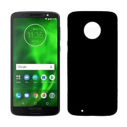 Funda de TPU Mate Lisa para Motorola Moto G6 Silicona Flexible Negro