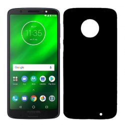 Funda TPU Mate Lisa para Motorola Moto G6 Plus Silicona Flexible Negro