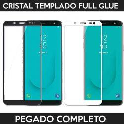 Protector pantalla con adhesivo y pegado completo - Samsung Galaxy J6 2018
