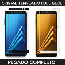 Protector pantalla con adhesivo y pegado completo - Samsung Galaxy A5 / A8 2018