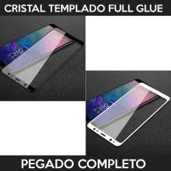 Protector pantalla adhesivo y pegado completo para Samsung Galaxy A6 2018
