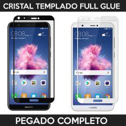 Protector pantalla con adhesivo y pegado completo - Huawei P Smart