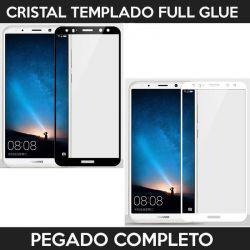 Protector pantalla con adhesivo y pegado completo - Huawei Mate 10 Lite