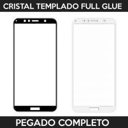 Protector pantalla con adhesivo y pegado completo - Huawei Y6 2018 / Honor 7A