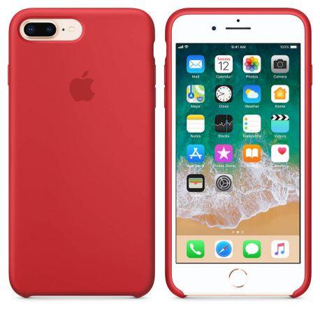 6c7538a97a3 Funda de Silicona suave con logo para Apple iPhone 7 Plus / 8 Plus