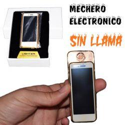 Mechero encendedor electrónico de cigarrillos sin llama diseño iPhone