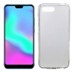 Funda flexible de Silicona Mate Lisa para Honor 10 color Blanca