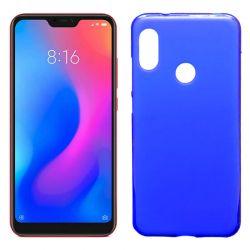 Funda TPU Mate Lisa para Xiaomi Redmi 6 Pro / Mi A2 Lite Silicona Azul