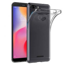 Funda de TPU Silicona Transparente para Xiaomi Redmi 6