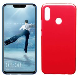Funda de TPU Mate Lisa para Huawei P Smart Plus Silicona Rojo