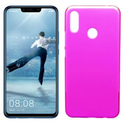 Funda de TPU Mate Lisa para Huawei P Smart Plus Silicona Rosa