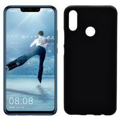 Funda de TPU Mate Lisa para Huawei P Smart Plus Silicona Negro