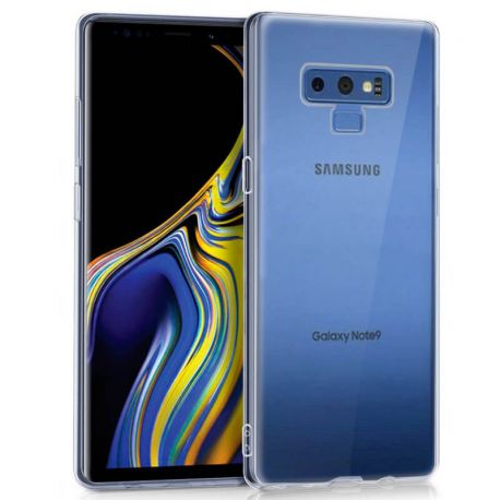 aaa7e36175f Funda de TPU Silicona Transparente para Samsung Galaxy Note 9