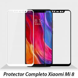 Protector de Pantalla de Cristal Templado Completo - Xiaomi Mi 8