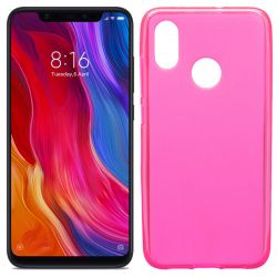 Funda de TPU Mate Lisa para Xiaomi Mi8 Silicona Flexible Rosa