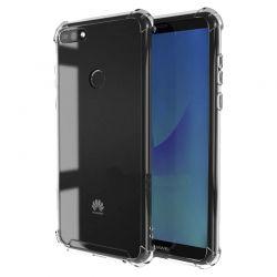 Funda de Silicona Transparente Antigolpe - Huawei Y7 2018 / Honor 7C