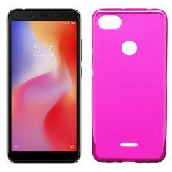 Funda de TPU Mate Lisa para Xiaomi Redmi 6 Silicona Rosa