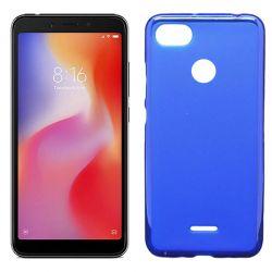 Funda de TPU Mate Lisa para Xiaomi Redmi 6 Silicona Azul