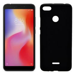 Funda de TPU Mate Lisa para Xiaomi Redmi 6 / Redmi 6A Silicona Negro