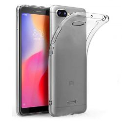 Funda de TPU Silicona Transparente para Xiaomi Redmi 6A