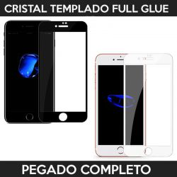 Protector pantalla con adhesivo y pegado completo - iPhone 7 Plus / iPhone 8 Plus