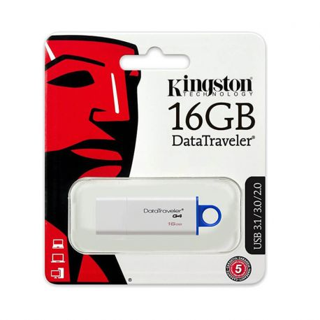 Pendrive Kingston Data Traveler, Memoria Usb 16GB USB 3.0