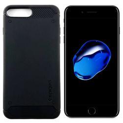 Funda tipo Rugged Armor para iPhone 7 Plus / 8 Plus Azul Medianoche