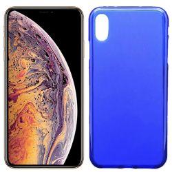 Funda de TPU Mate Lisa para iPhone Xs Max Silicona Azul