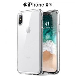 Funda de TPU Silicona Transparente para iPhone Xr
